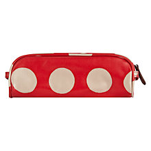 Buy Cath Kidston Dotty Pencil Case, Large Online at johnlewis.com