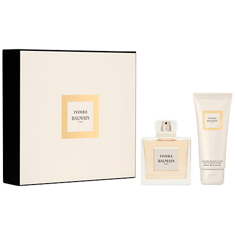 Buy Balmain Ivoire Gift Set, 50ml Online at johnlewis.com
