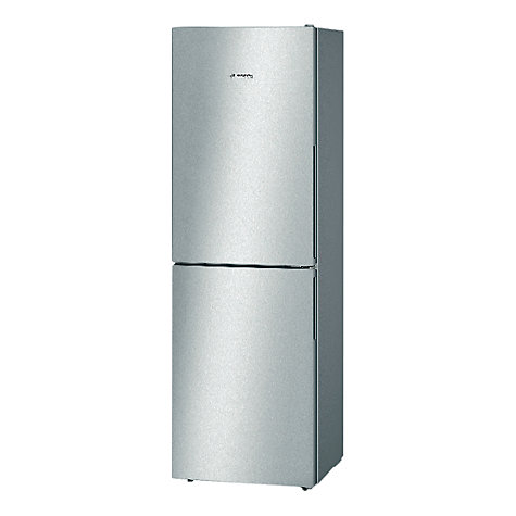 Buy Bosch KGN34VL30G Fridge Freezer, A++ Energy Rating, 60cm Wide, Stainless Steel Look Online at johnlewis.com
