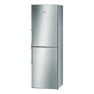 Image of Bosch KGN34VL20G Fridge Freezer, A+ Energy Rating, 60cm Wide, Stainless Steel Look