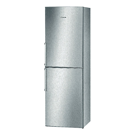 Buy Bosch KGN34VL20G Fridge Freezer, A+ Energy Rating, 60cm Wide, Stainless Steel Look Online at johnlewis.com