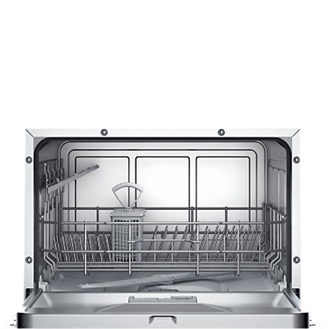 Buy Bosch SKS51E01EU Compact Freestanding Dishwasher, Red Online at johnlewis.com