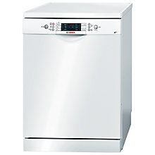 Buy Bosch SMS58E32GB Freestanding Dishwasher, White Online at johnlewis.com