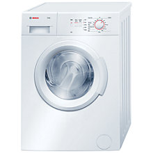 Buy Bosch Maxx WAB24060GB Washing Machine, 5.5kg Load, A+ Energy Rating, 1200rpm Spin, White Online at johnlewis.com
