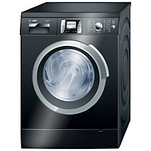Buy Bosch Logixx WAS287B0GB Washing Machine, 9kg Load, A+++ Energy Rating, 1400rpm Spin, Black Online at johnlewis.com