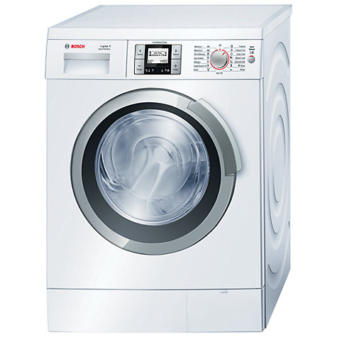 Buy Bosch Logixx WAS28761GB Washing Machine, 9kg Load, A+++ Energy Rating, 1400rpm Spin, White Online at johnlewis.com