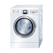Buy Bosch Logixx WAS32760GB Washing Machine, 9kg Load, A+++ Energy Rating, 1600rpm Spin, White Online at johnlewis.com