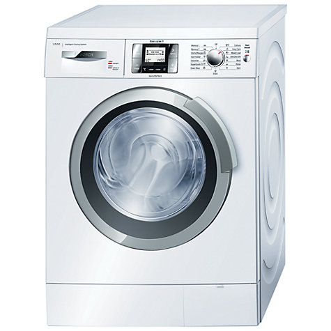 Buy Bosch EcoLogixx WAS28840GB Washing Machine, 8kg Load, A+++ Energy Rating, 1400rpm Spin, White Online at johnlewis.com