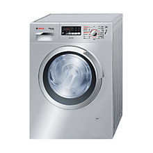 Buy Bosch WVH2836SGB Washer Dryer, 7kg Wash/4kg Dry Load, B Energy Rating, 1400rpm Spin, Silver Online at johnlewis.com