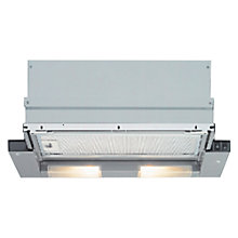 Buy Bosch DHI635HGB Telescopic Cooker Hood, Metallic Silver Online at johnlewis.com