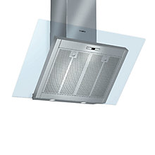 Buy Bosch DWK09E850B Chimney Cooker Hood, Brushed Steel Online at johnlewis.com