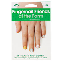 Buy Farm Fingernail Stickers, Multi Online at johnlewis.com