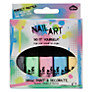 Pastel Nail Art Pens, Pack of 5, Multi
