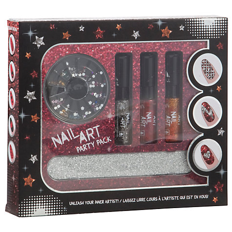 Buy Party Nail Art Glitter Gift Set, Multi Online at johnlewis.com