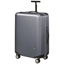 Buy Samsonite Inova Spinner Wheel Small Suitcase, Silver Online at johnlewis.com