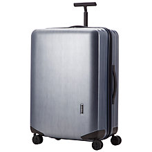 Buy Samsonite Inova 4-Wheel Large Suitcase, Brush Blue Online at johnlewis.com