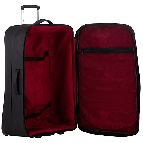Buy John Lewis Z-Lite 2-Wheel Large Suitcase, Black Online at johnlewis.com