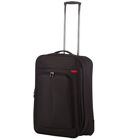 Buy John Lewis Z-Lite 2-Wheel Medium Suitcase, Black Online at johnlewis.com
