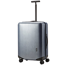 Buy Samsonite Inova 4-Wheel Medium Suitcase, Brush Blue Online at johnlewis.com