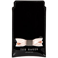 Buy Ted Baker Bow iPhone 5 Slip Case Online at johnlewis.com