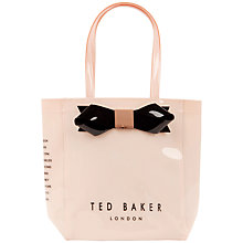 Buy Ted Baker Tinicon Bow Icon Shopper Bag Online at johnlewis.com