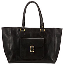 Buy Collection WEEKEND by John Lewis Vintage Veg Leather Tote Handbag Online at johnlewis.com