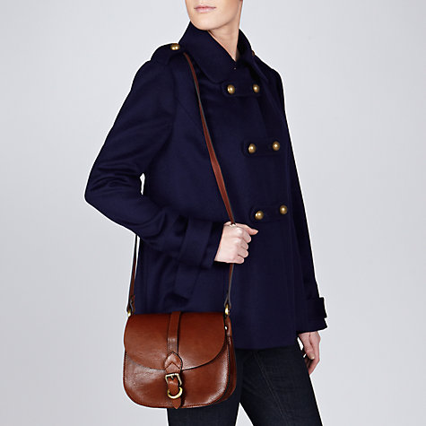 Buy Collection WEEKEND by John Lewis Leather Across Body Handbag Online at johnlewis.com