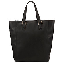 Buy COLLECTION by John Lewis Grainy Tote Bag, Black Online at johnlewis.com