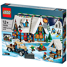 Buy LEGO Creator Winter Village Cottage Online at johnlewis.com