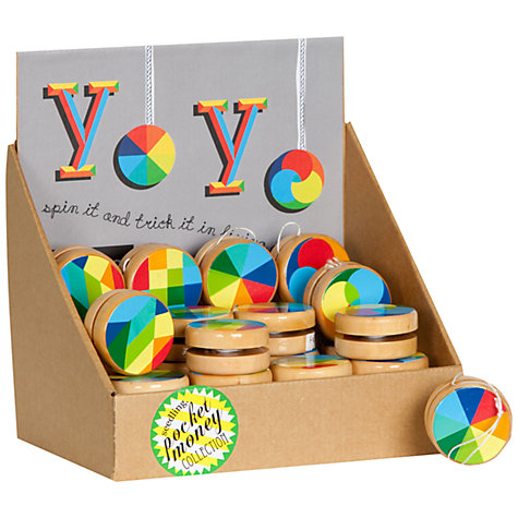 Buy Seedling Colour Wheel Yoyo, Assorted Online at johnlewis.com