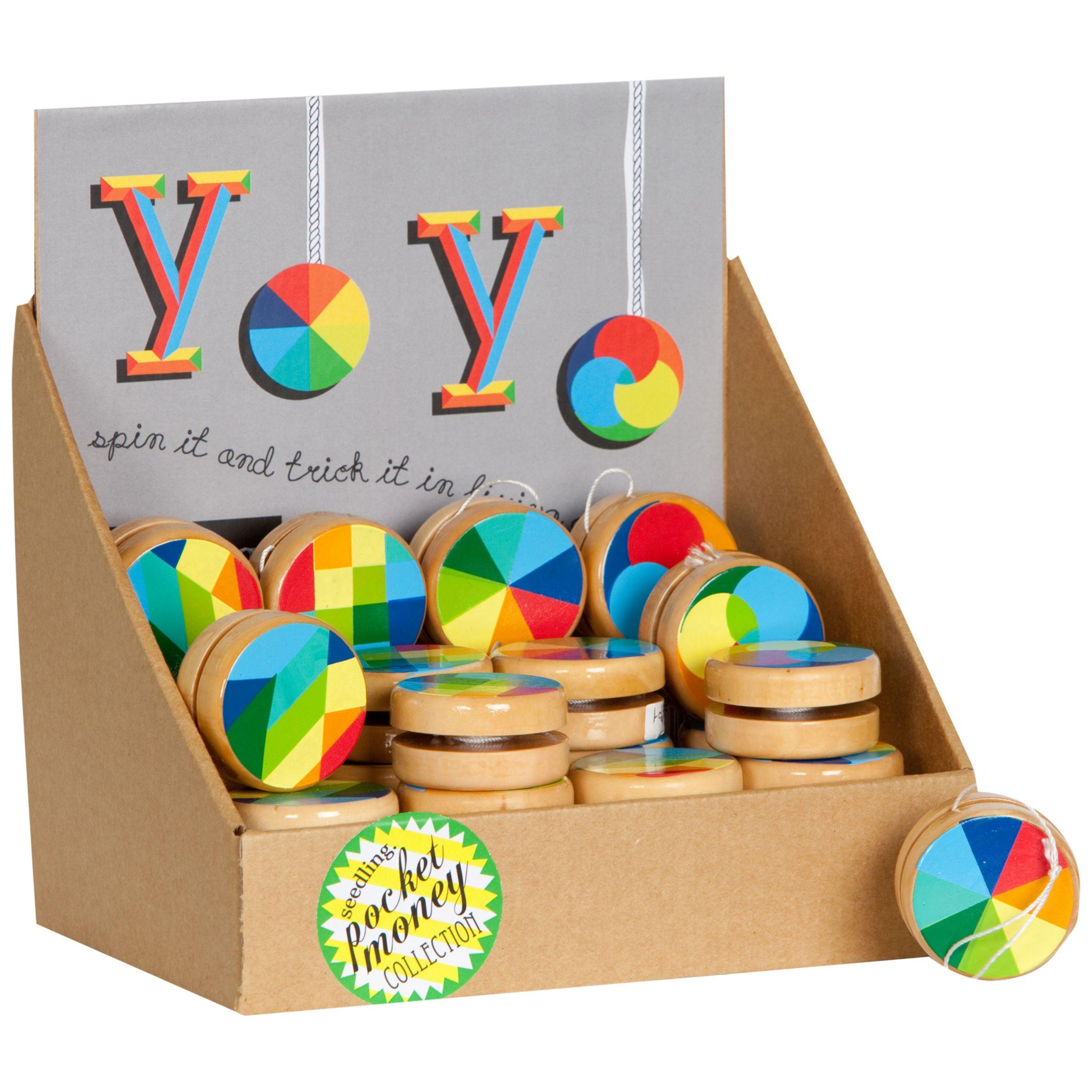 Seedling Seedling Colour Wheel Yoyo, Assorted