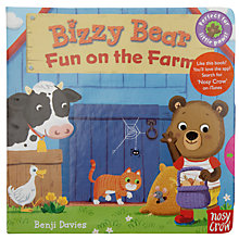 Buy Bizzy Bear Fun On The Farm Book Online at johnlewis.com