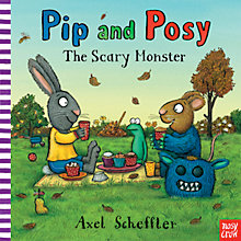 Buy Pip and Posy: The Scary Monster Book Online at johnlewis.com