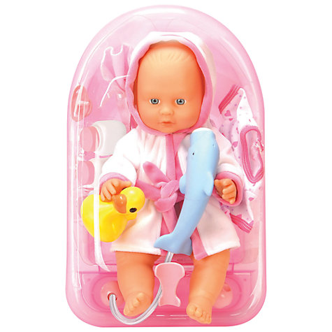 Buy John Lewis Bath Tub & Doll Online at johnlewis.com