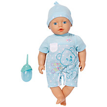 Buy Zapf Baby Born My Little Boy Doll Online at johnlewis.com