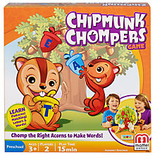 Buy Mattel Chipmunk Chompers Game Online at johnlewis.com