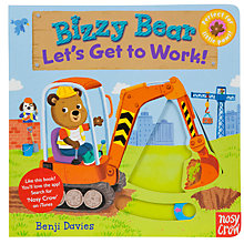 Buy Bizzy Bear Lets Get To Work Book Online at johnlewis.com