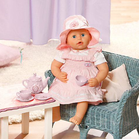 Buy Zapf Baby Annabell Deluxe Teatime Set Online at johnlewis.com