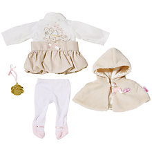 Buy Zapf Baby Annabel Deluxe Princess Clothes Online at johnlewis.com