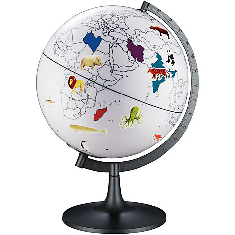 Buy John Lewis 11-Inch Colour My World Globe Online at johnlewis.com