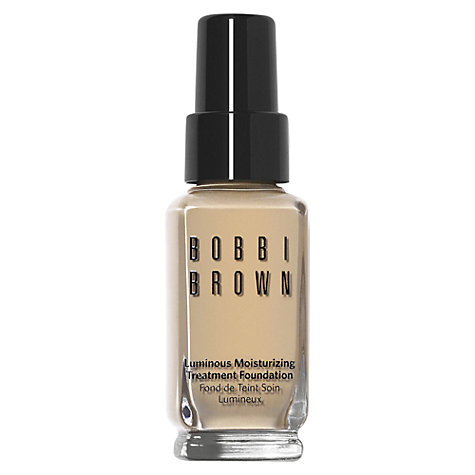 Buy Bobbi Brown Luminous Moisturising Treatment Foundation Online at johnlewis.com