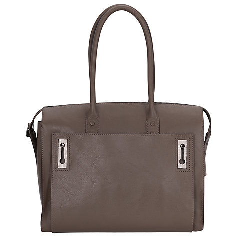 Buy French Connection Shoulder Handbag, Burnt Charcoal Online at johnlewis.com