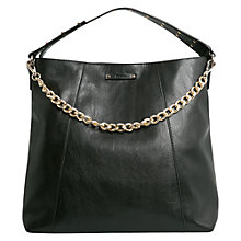 Buy Mango Studded Shopper Handbag, Black Online at johnlewis.com