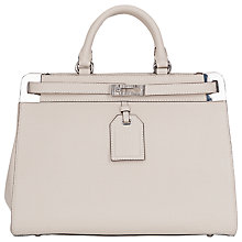 Buy French Connection Tote Handbag, Willow White Online at johnlewis.com