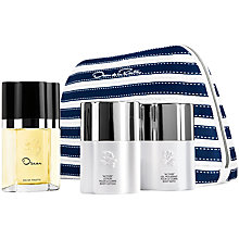 Buy Oscar De La Renta Oscar Eau de Toilette Fragrance Set, 50ml Online at johnlewis.com