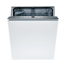 Buy Bosch SMV65E00GB Integrated Dishwasher, Brushed Steel Online at johnlewis.com