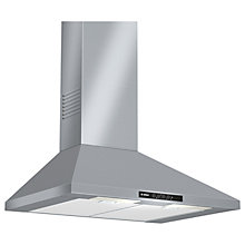 Buy Bosch DWW07W450B Chimney Cooker Hood, Brushed Steel Online at johnlewis.com