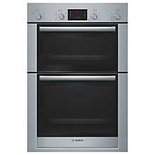 Buy Bosch Exxcel HBM53R550B Double Electric Oven, Stainless Steel Online at johnlewis.com
