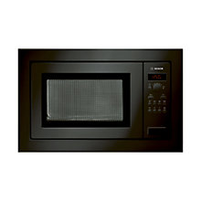 Buy Bosch HMT84M661B Built-In Compact Microwave, Black Online at johnlewis.com
