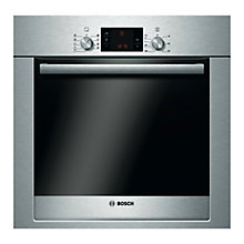 Buy Bosch Exxcel HBG33B550B Built-in Single Oven, Brushed Steel Online at johnlewis.com